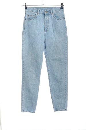 DRDENIM JEANSMAKERS Jeans taille haute bleu style décontracté