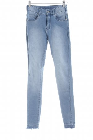 DRDENIM JEANSMAKERS Hoge taille jeans korenblauw casual uitstraling