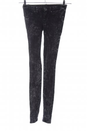 DRDENIM JEANSMAKERS Jeggings nero puntinato stile casual