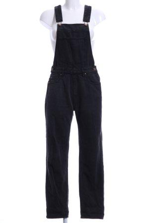 DRDENIM JEANSMAKERS Jeans met bovenstuk antraciet casual uitstraling