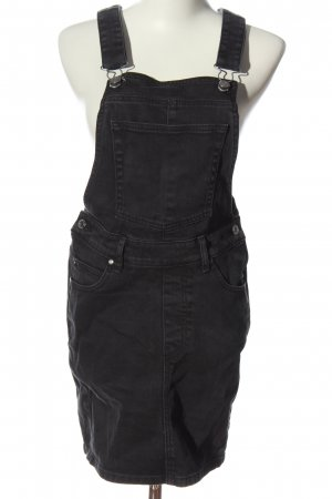 DRDENIM JEANSMAKERS Pinafore Overall Skirt black casual look