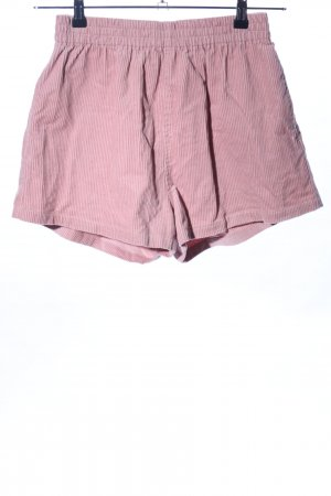 DRDENIM JEANSMAKERS Shorts pink Streifenmuster Casual-Look
