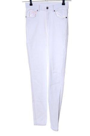 DRDENIM JEANSMAKERS Skinny Jeans weiß Casual-Look