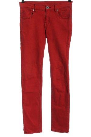 DRDENIM JEANSMAKERS Jeans skinny rosso stile casual
