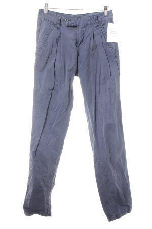 DRDENIM JEANSMAKERS Pantalone jersey blu acciaio stile casual
