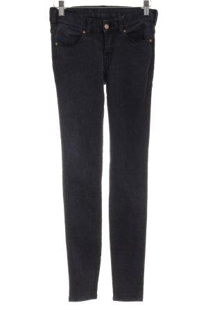 DRDENIM JEANSMAKERS Stretch Jeans schwarz sportlicher Stil