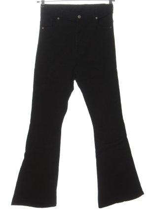 drdenim Jeans flare noir style décontracté