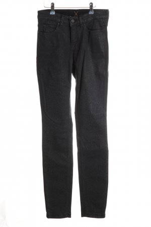 Dream Jeans Tecno by MAC Skinny Jeans schwarz Leomuster Casual-Look