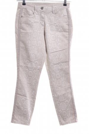 Dreamstar Five-Pocket-Hose graubraun-hellbeige Casual-Look
