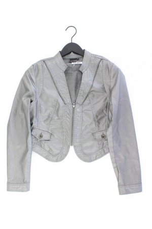 dreamstar Kunstlederjacke Größe M neuwertig silber aus Polyester