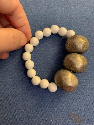 Handmade Brazalete de perlas multicolor