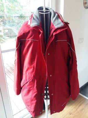 redgreen Podwójna kurtka biały-ciemnoczerwony