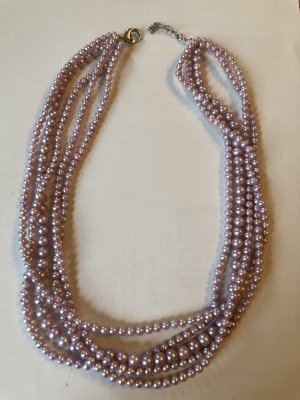 Pearl Necklace rose-gold-coloured