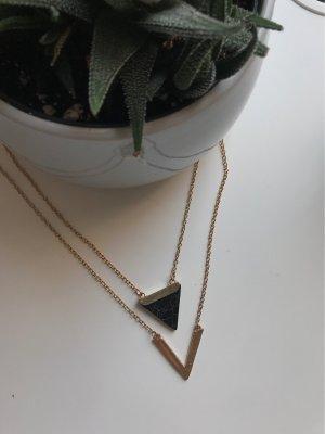 Collana oro-nero