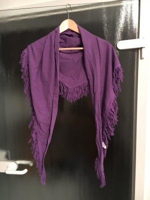 AJC Fringed Scarf multicolored