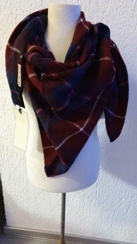 Dreieckige Tuch Schal in 110 cm x 110 cm unbenutzt Tom Tailor Violett