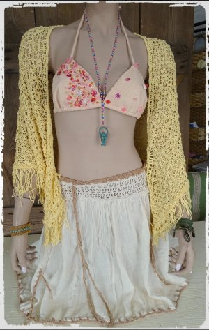 Fringed Scarf primrose-pale yellow