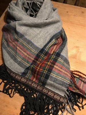 s.Oliver Fringed Scarf multicolored