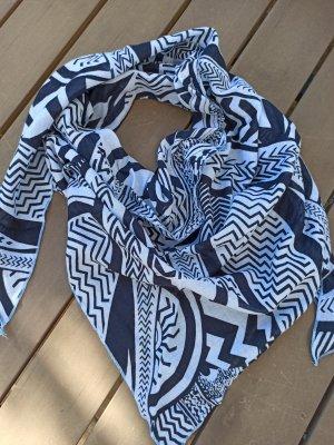 Foulard bleu clair-bleu foncé