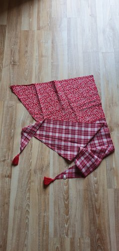 Tom Tailor Fazzoletto da collo rosso mattone Cotone