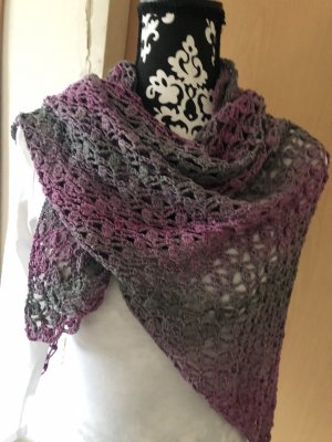 Crochet Scarf multicolored