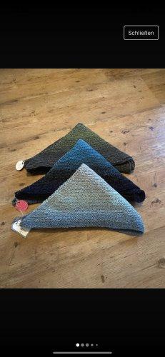 handmade with love Sciarpa lavorata a maglia multicolore