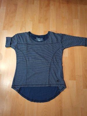 Dreimaster Stripe Shirt white-dark blue