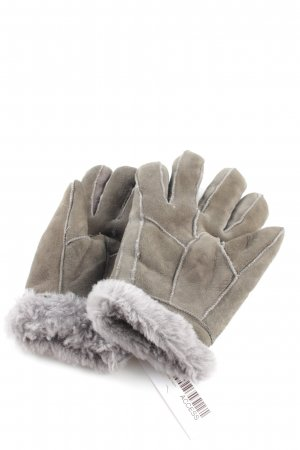 Dreimaster Fur Gloves khaki-light grey casual look