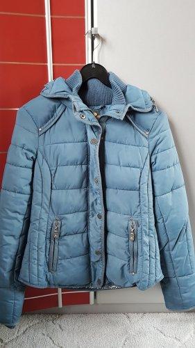 Dreimaster Winterjacke hellblau Größe XS
