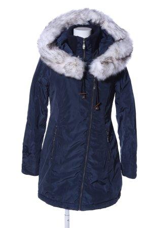 Dreimaster Abrigo de invierno azul estilo «business»