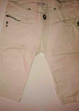 Pimkie Jeans a 3/4 bianco sporco-bianco