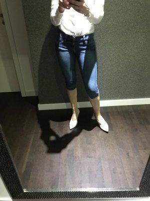 H&M 3/4-jeans korenblauw