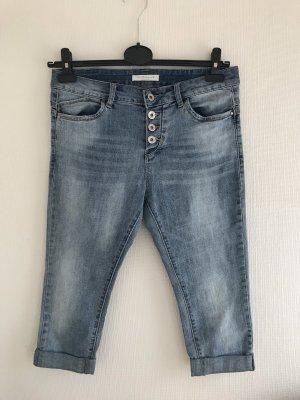 JEWELLY Jeans a 3/4 azzurro-blu