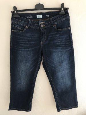 s. Oliver (QS designed) Jeans a 3/4 blu scuro-blu