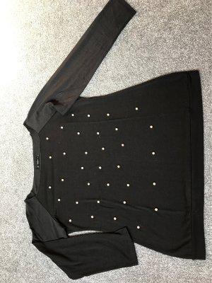 SheIn Boatneck Shirt black