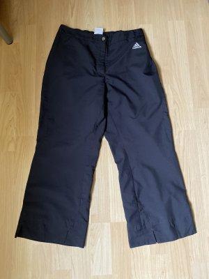 Dreiviertel Sporthose Adidas schwarz