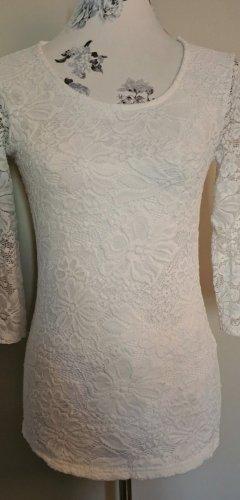 Amisu Lace Top white