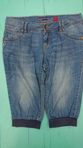 Dreiviertelhose Jeans