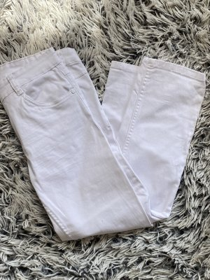 Gina 3/4 Length Trousers white