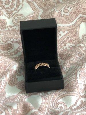 Pierścionek dla par w kolorze różowego złota
