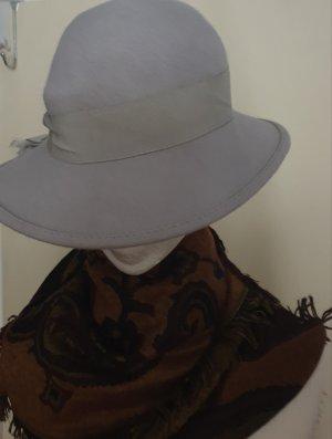 VEB Dresdner Hutmoden Felt Hat light grey
