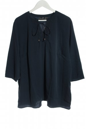 Dress In Langarm-Bluse