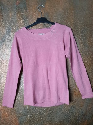 Dress in pullover rosa 36
