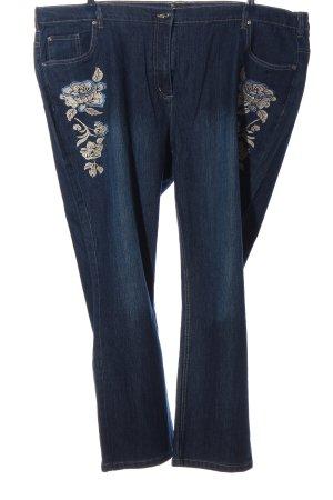Dress In Straight-Leg Jeans