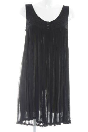 Dress In Tunikakleid schwarz Casual-Look