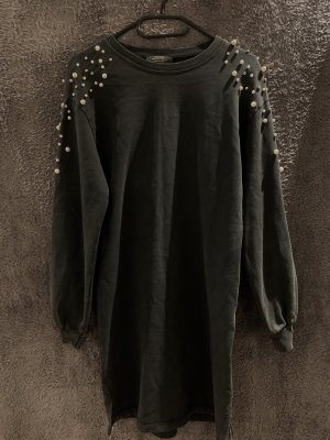 Bershka Sweat Dress grey-silver-colored
