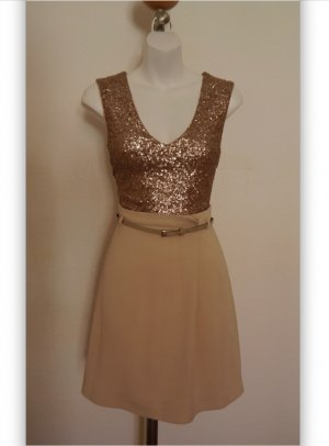 Max & Co. Cekinowa sukienka Wielokolorowy Tkanina z mieszanych włókien