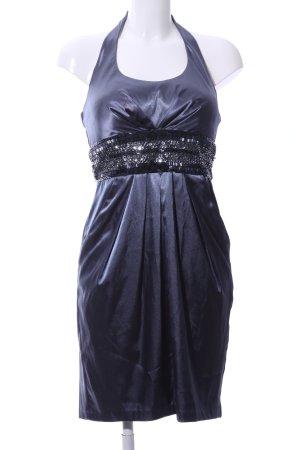 Dressbarn Cocktailkleid schwarz-blau Elegant