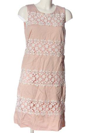 Dresses Unlimited Etuikleid pink-weiß Elegant