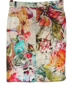 Dresses Unlimited High Waist Skirt flower pattern casual look